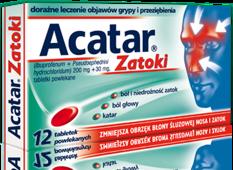 ACATAR Zatoki x 12 tabletek
