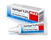 APHTIGEL MAX 0,3% żel do pielęgnacji jamy ustnej 5g