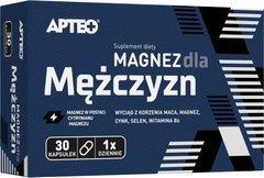 APTEO Magnez dla mężczyzn x 30 kapsułek - data ważności 30-04-2017r.