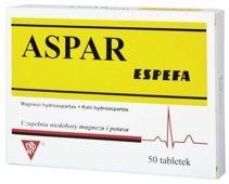 ASPAR x 50 tabletek