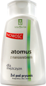 ATOMUS z nanosrebrem żel pod prysznic dla mężczyzn 250ml