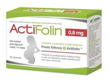 ActiFolin 0,8mg x 30 tabletek
