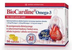 BIOCARDINE OMEGA-3 x 56 kapsułek
