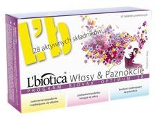 BIOVAX L'biotica Włosy i Paznokcie Program Optimum x 30 tabletek - data ważności 30-06-2017r.
