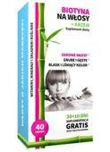 Biotyna + Krzem na włosy Noble Health x 40 tabletek