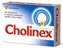 CHOLINEX x 16 past. do ssania