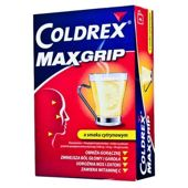 COLDREX MAXGRIP lemon x 10 saszetek