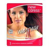 Caress Wet New Prezerwatywy nawilżane x 3 sztuki