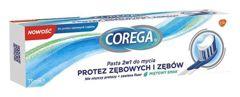 Corega Pasta 2w1 do mycia protez zębowych i zębów 75ml