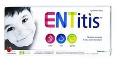 ENTitis x 30 pastylek do ssania truskawkowe