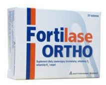 FORTILASE ORTHO x 20 tabletek