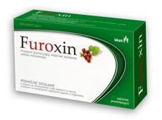 FUROXIN x 30 tabletek - data ważności 31-08-2017r.