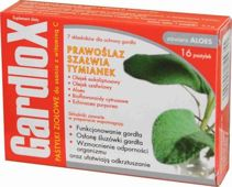 GARDLOX x 16 tabletek do ssania smak ziołowy