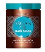 GLYSKINCARE Maska do włosów z olejkiem arganowym 300ml - data ważności 30-06-2017r.