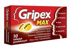 GRIPEX Max x 10 tabletek