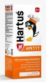 Hartuś Apetyt syrop dla dzieci 3+ 120ml