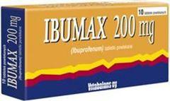 IBUMAX 200mg x 10 tabletek