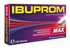 IBUPROM Max x 12 tabletek