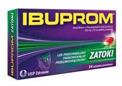 IBUPROM ZATOKI x 24 tabletki