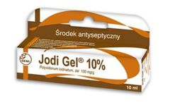 JODI GEL 10% żel 0,1g/1g 10ml