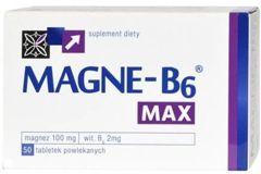 MAGNE B6 MAX x 50 tabletek