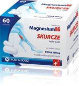 MAGNESIUM B6 Skurcze x 60 tabletek