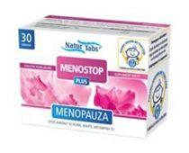MENOSTOP Plus x 30 tabletek Naturkaps - data ważności 06-07-2015r.