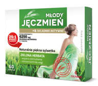 Młody Jęczmień + 4 składniki aktywne x 60 tabletek
