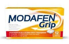 Modafen Grip x 12 tabletek - data ważności 30-09-2017r.