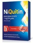 NIQUITIN 3 - plastry 7mg/24h