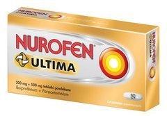 NUROFEN Ultima 0,2g + 0,5g x 12 tabletek