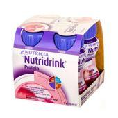 NUTRIDRINK PROTEIN smak truskawkowy 125ml x 4 sztuki