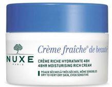 NUXE Creme Fraiche de Beaute Creme krem nawilżający i kojący 50 ml