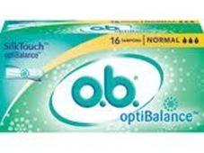 OB OPTIBALANCE NORMAL x 16 tamponów