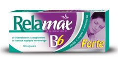 RELAMAX B6 forte x 30 kapsułek - data ważności 31-10-2016r.