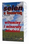 SELEN Z LUCERNĄ x 50 tabletek
