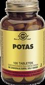 SOLGAR Potas x 100 tabletek