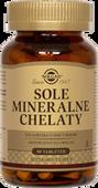 SOLGAR Sole Mineralne chelaty  x 90 tabletek