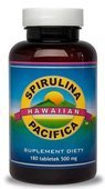 SPIRULINA PACIFICA 500mg x 180 tabletek