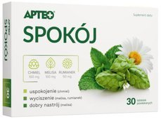 SPOKÓJ APTEO PLUS x 30 tabletek
