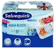 Salvequick Plastry Aqua Block Kids x 12 sztuk