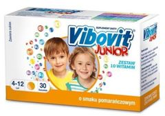 VIBOVIT Junior smak pomarańczowy x 30 saszetek