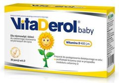 VITADEROL Baby x 30 kapsułek twist-off