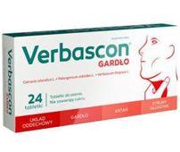 Verbascon Gardło x 24 tabletki do ssania