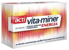 Vita-miner Energia x 60 tabletek