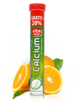 VITAMUSS CALCIUM x 24+4 tabletki musujące smak pomarańczowy