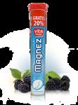 VITAMUSS MAGNEZ x 20+4 tabletki musujące smak jeżynowy