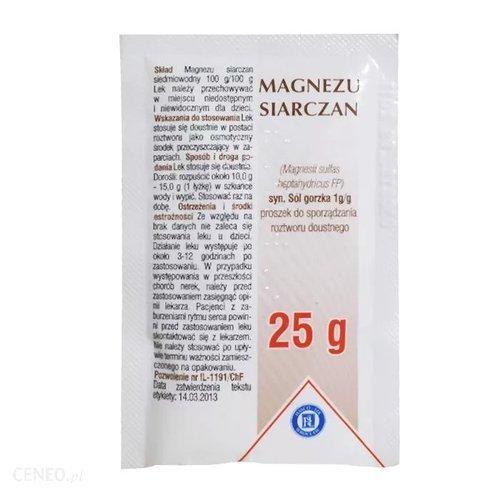 Siarczan magnezu apteka