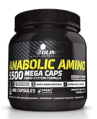OLIMP Anabolic Amino 5500 Mega Caps x 400 kapsułek