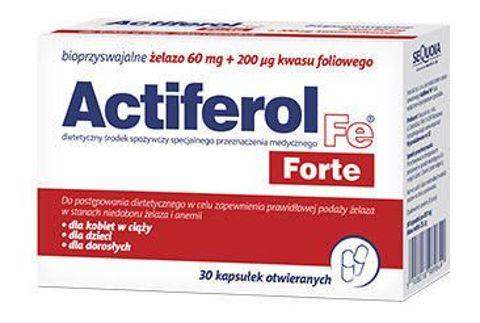 ACTIFEROL FE FORTE x 30 kapsułek